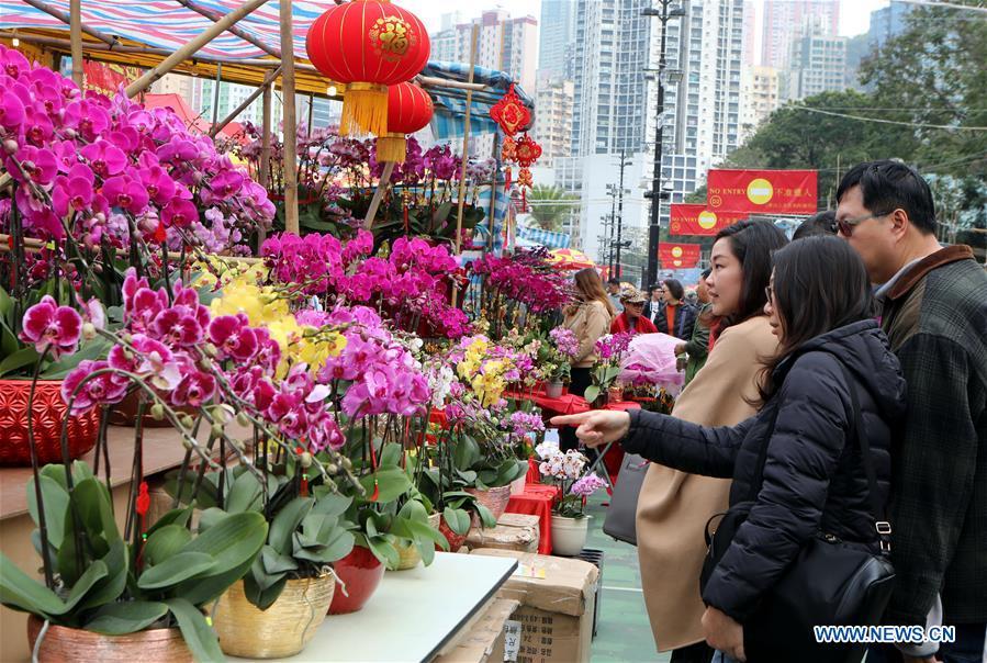 CHINA-HONG KONG-LUNAR NEW YEAR FESTIVAL-FAIR