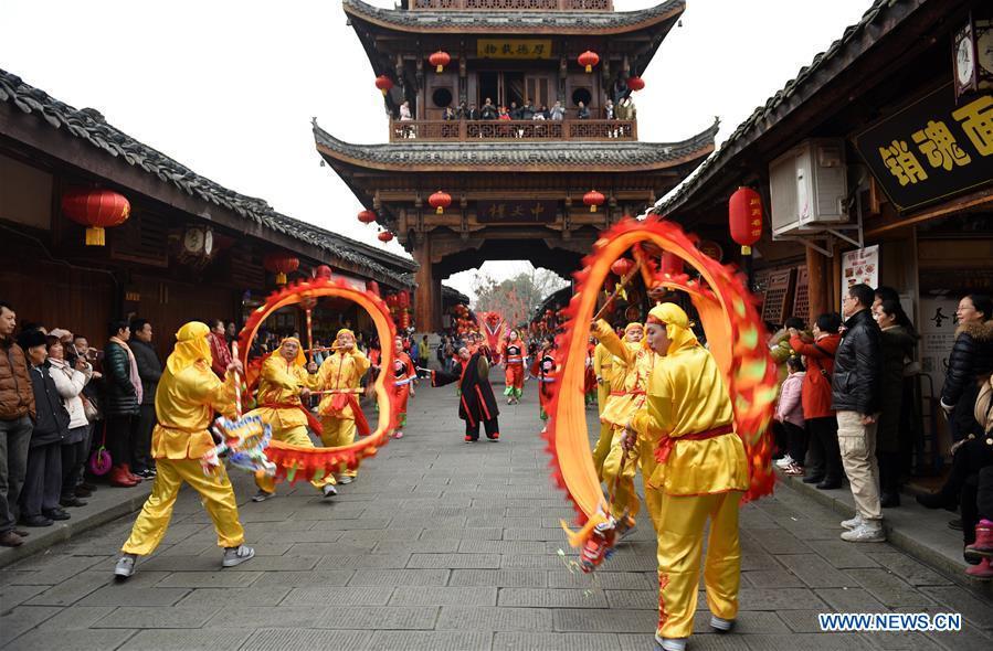 #CHINA-SICHUAN-LANGZHONG-SPRING FESTIVAL (CN)