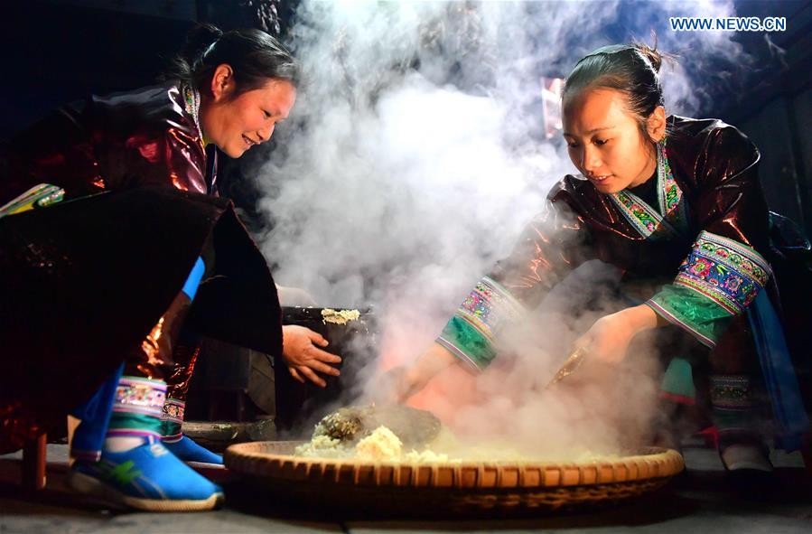 CHINA-GUANGXI-RONGSHUI-FESTIVE DRINKING (CN)