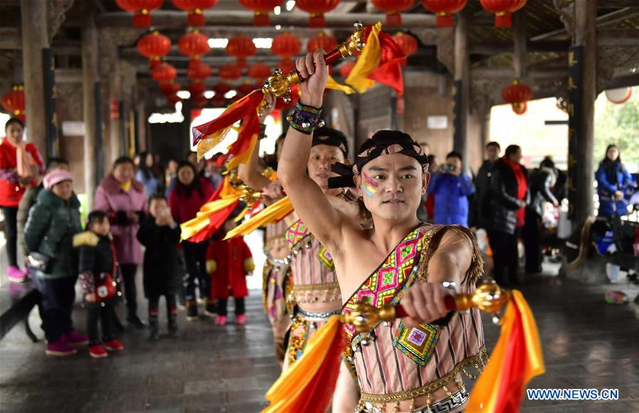 #CHINA-HUBEI-ENSHI-FOLK ART TROUPE (CN)