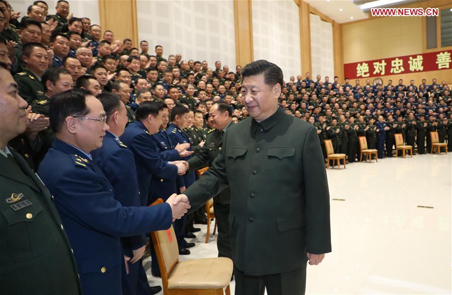 CHINA-SICHUAN-XI JINPING-MILITARY BASE-VISIT (CN)
