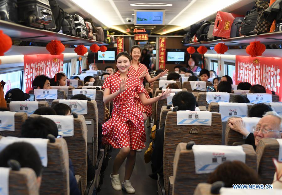 CHINA-HIGH-SPEED RAIL-PERFORMANCE (CN)