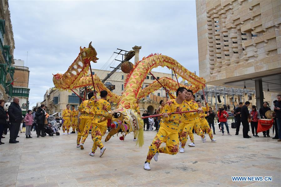 MALTA-VALLETTA-CARNIVAL-CHINA-ZHEJIANG WU OPERA-HAPPY SPRING FESTIVAL