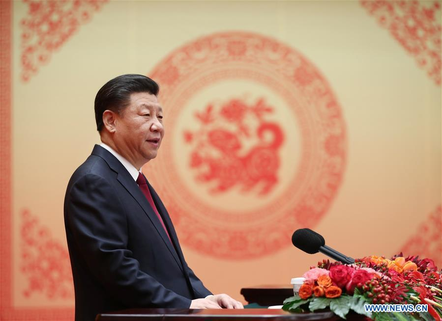 Chinese leaders extend spring festival greetings xinhua english china beijing xi jinping spring festival greeting cn m4hsunfo