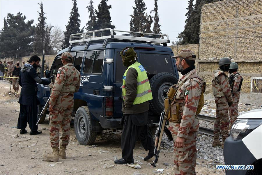 4 security personnel killed in terrorist attack in sw pakistan xinhua englishnewscn