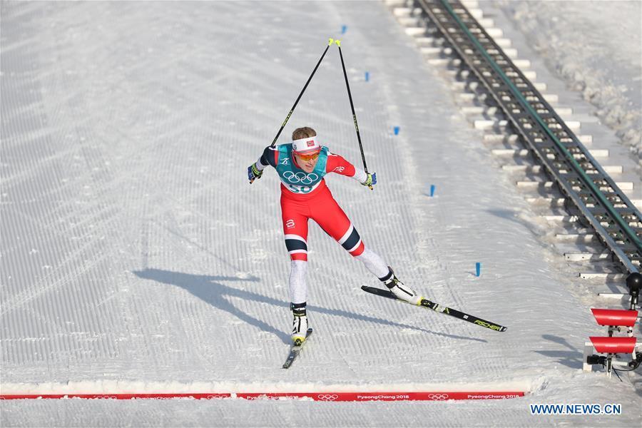 Haga Of Norway Crowned In Women S 10km Cross Country Free Skiing At Pyeongchang Olympics Xinhua English News Cn