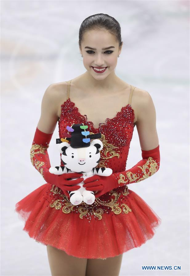 Alina Zagitova wins ladies' single figure skating free