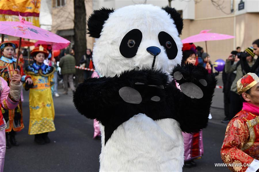 FRANCE-PARIS-CHINESE NEW YEAR-PARADE