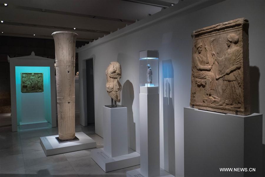 GREECE-ATHENS-ACROPOLIS MUSEUM-EXHIBITION