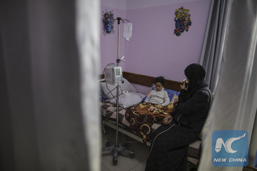 Feature: Medicine shortage, Israeli blockade prompt cancer leading