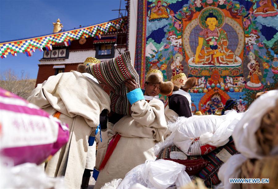 CHINA-TIBET-QOIDE MONASTERY-RELIGIOUS SERVICE (CN)