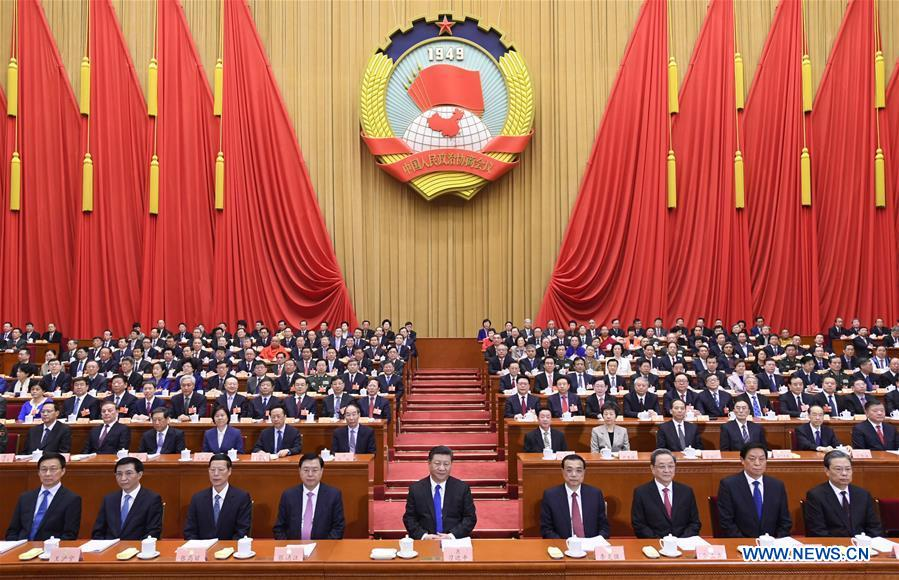 (TWO SESSIONS)CHINA-BEIJING-CPPCC-OPENING (CN)