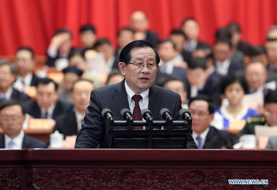 (TWO SESSIONS)CHINA-BEIJING-CPPCC-WAN GANG-REPORT (CN)