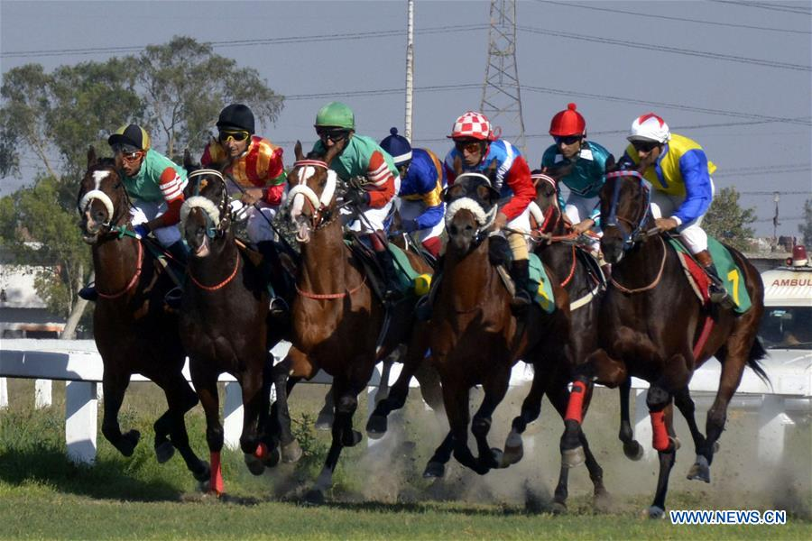 Annual Derby Horse Race held in eastern Pakistan's Lahore