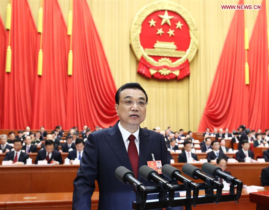 (TWO SESSIONS)CHINA-BEIJING-LI KEQIANG-NPC-OPENING (CN)
