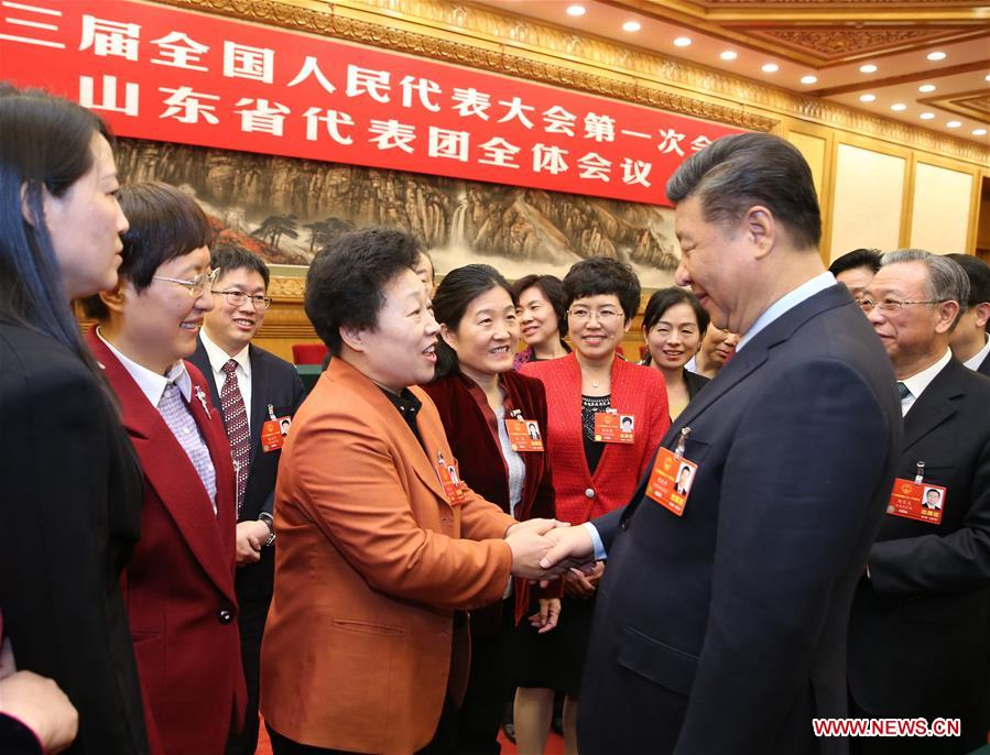 (TWO SESSIONS)CHINA-BEIJING-XI JINPING-NPC-PANEL DISCUSSION (CN)