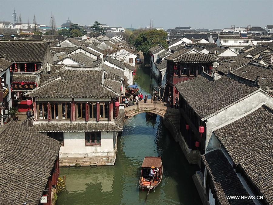 CHINA-JIANGSU-ZHOUZHUANG-SCENERY (CN)