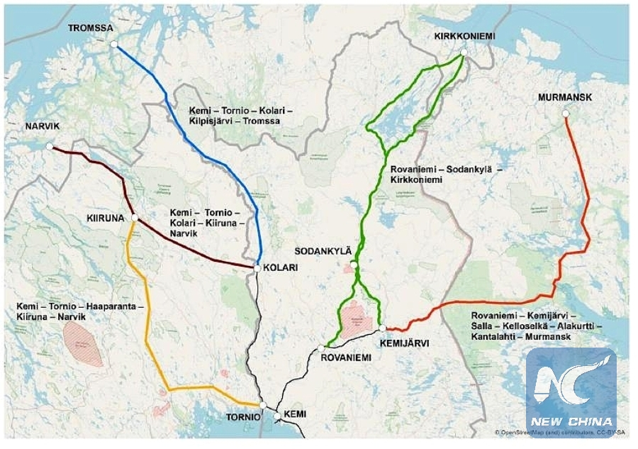 FinnishNorwegian blueprint of Arctic corridor unveiled Xinhua