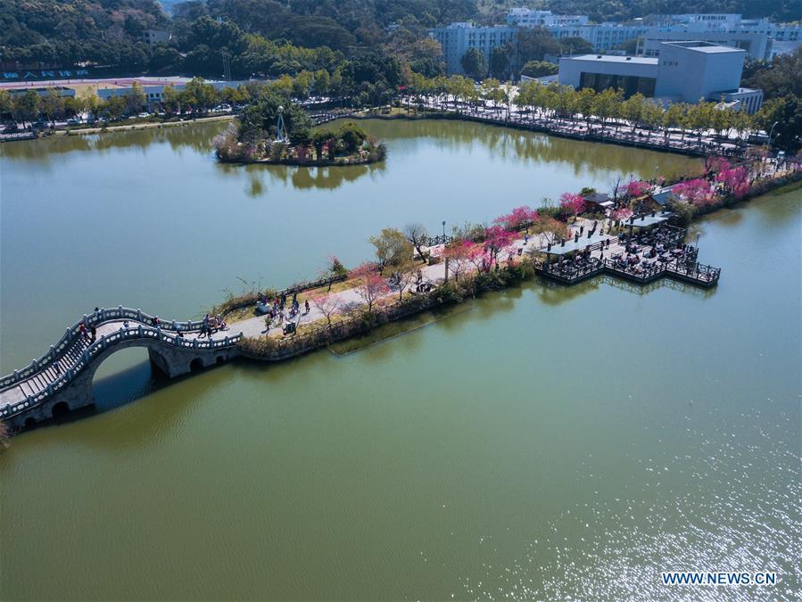 CHINA-FUZHOU-SPRING SCENERY (CN)