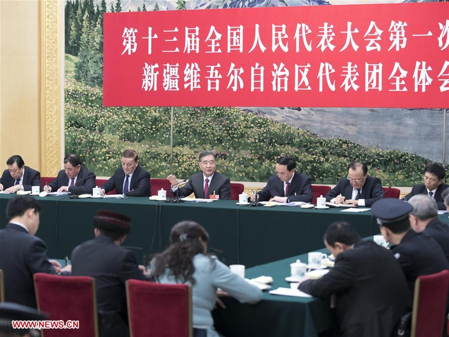 (TWO SESSIONS)CHINA-BEIJING-WANG YANG-NPC-PANEL DISCUSSION (CN)