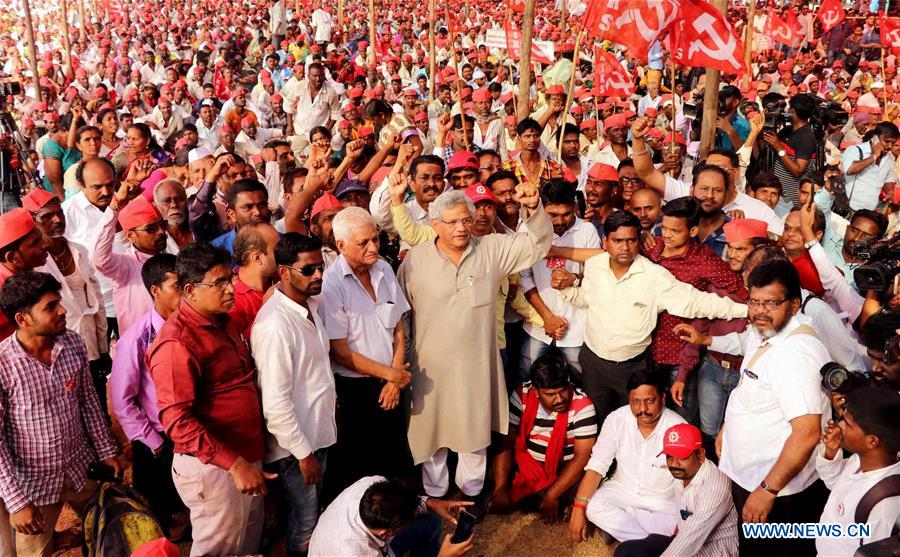Indian farmers rally to demand land rights, loan waivers, fair ...
