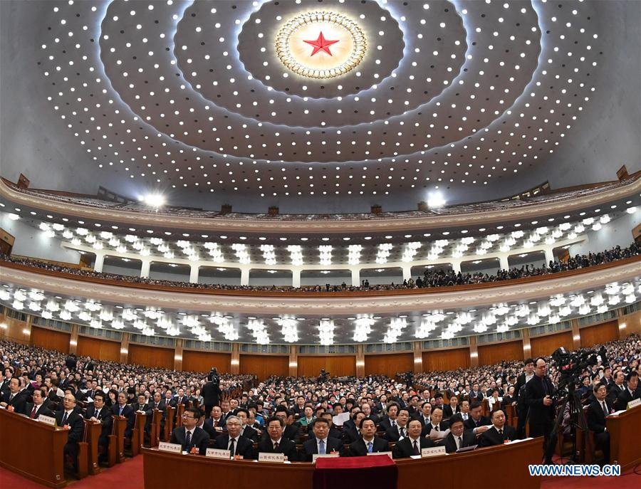 (TWO SESSIONS)CHINA-BEIJING-NPC-FOURTH PLENARY MEETING (CN)