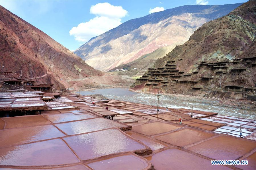 CHINA-TIBET-SALT HARVEST (CN)