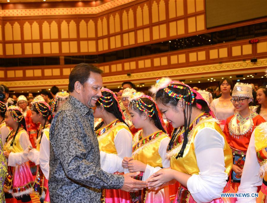BRUNEI-BANDAR SERI BEGAWAN-CHINESE NEW YEAR-SULTAN