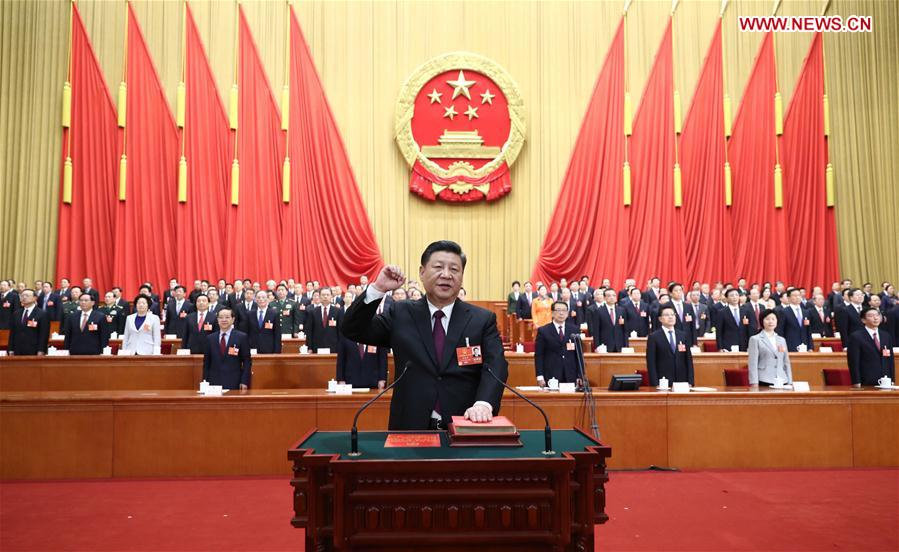 China Focus: Xi Jinping unanimously elected Chinese president, CMC chairman