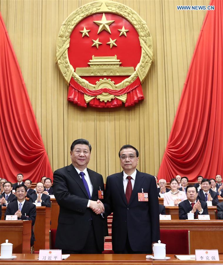 (TWO SESSIONS)CHINA-BEIJING-XI JINPING-LI KEQIANG-NPC-SIXTH PLENARY MEETING (CN)