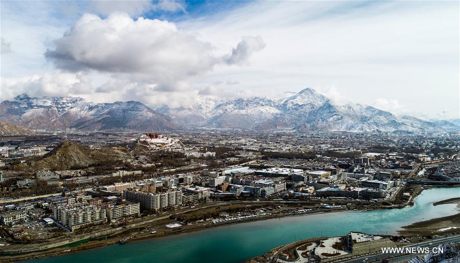 In pics: snow scenery of Lhasa, China's Tibet