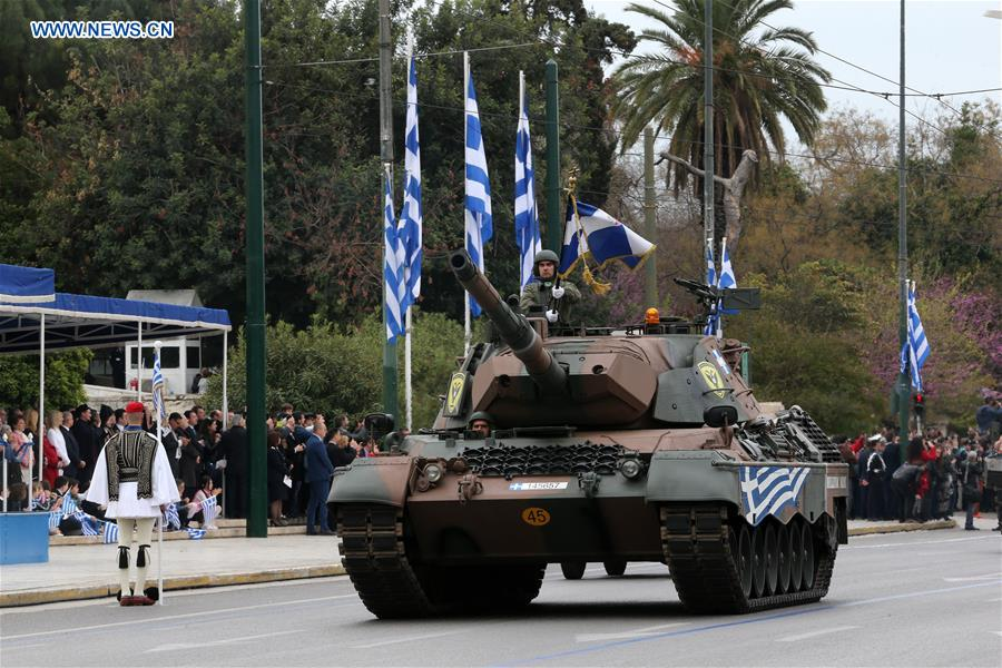 Greece celebrates Independence Day, sending message for