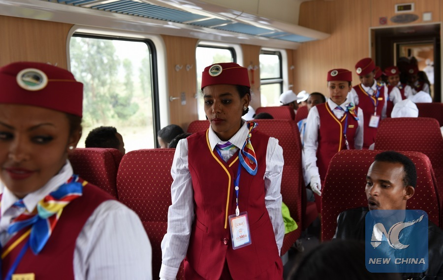 Ethiopia-Djibouti railway winning hearts of passengers