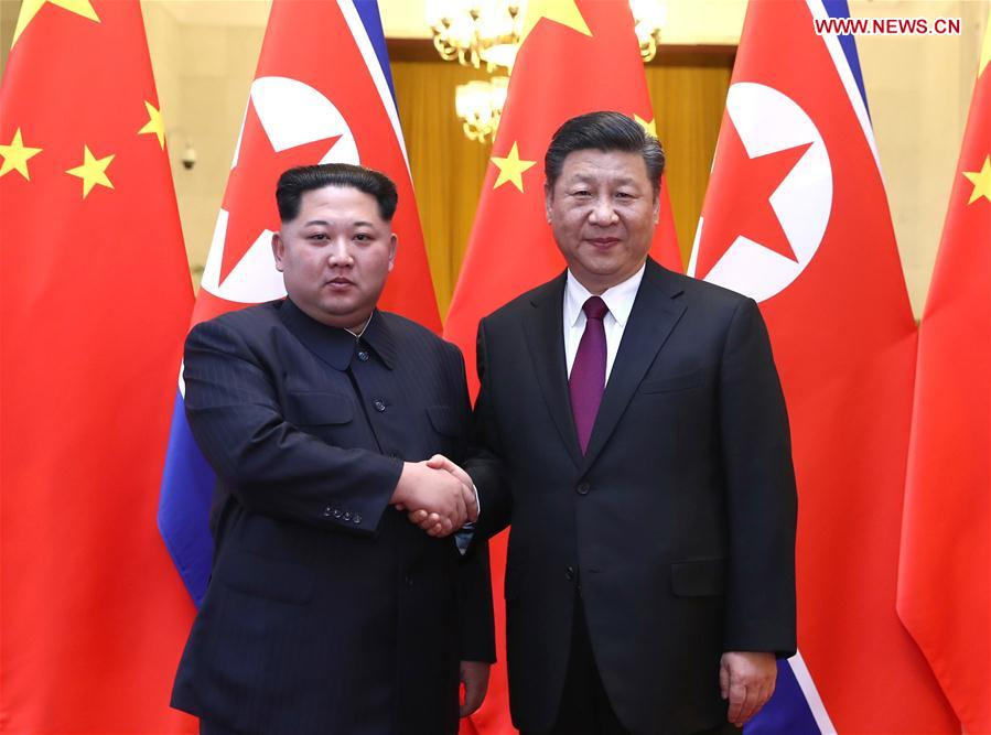 Xi Jinping, Kim Jong Un hold talks in Beijing