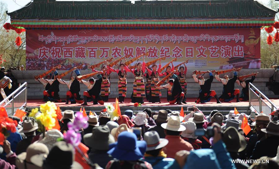 Tibet celebrates Serfs' Emancipation Day