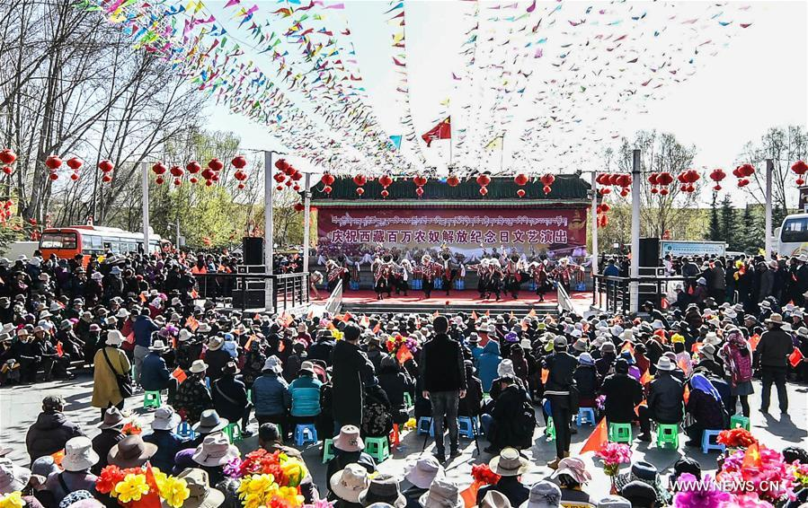 CHINA-TIBET-SERFS' EMANCIPATION DAY-ANNIVERSARY (CN)