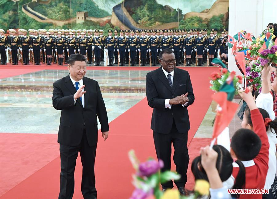 China, Namibia agree to establish comprehensive strategic partnership of cooperation