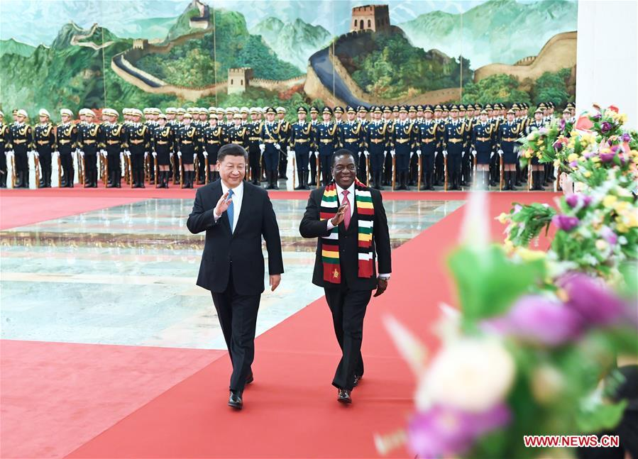 China, Zimbabwe agree to establish comprehensive strategic partnership of cooperation