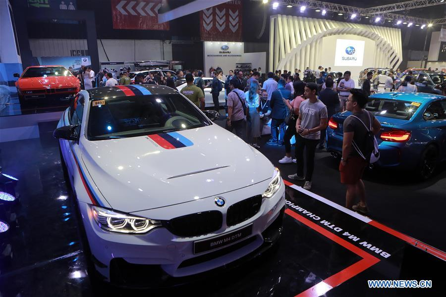 Annual Manila International Auto Show Held In The Philippines - International auto show