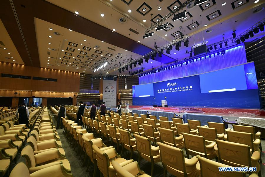 """World media look at """"Asia's Davos"""" for plan to sustain world economy"""