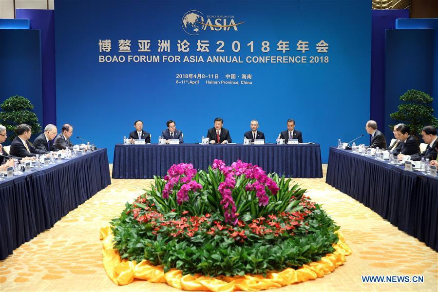 CHINA-BOAO-BFA-XI JINPING-MEETING (CN)