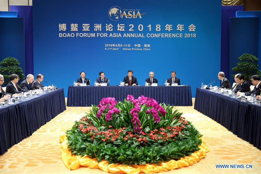 CHINA-BOAO-BFA-XI JINPING-MEETING (CN)