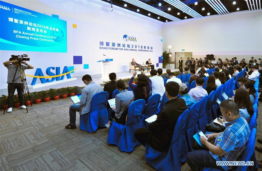 CHINA-BOAO-BFA-CLOSING-PRESS CONFERENCE (CN)