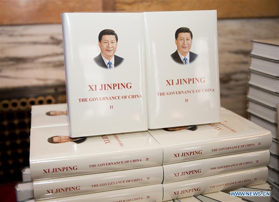 BRITAIN-LONDON-XI JINPING-BOOK ON GOVERNANCE-LAUNCH