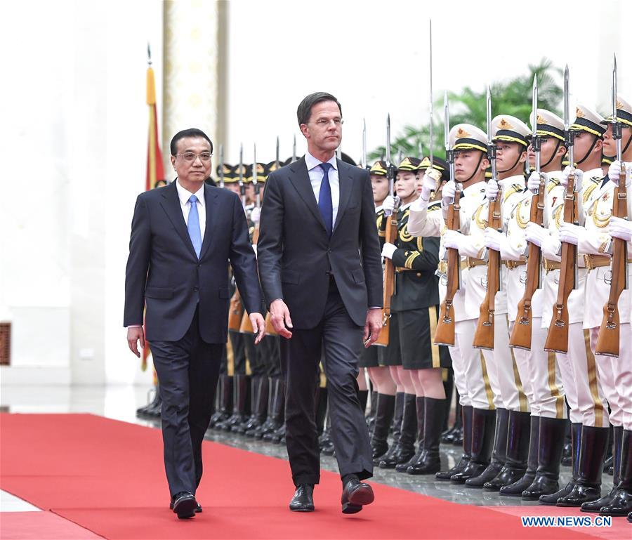 China, Netherlands agree to exploit advantages of complementarities