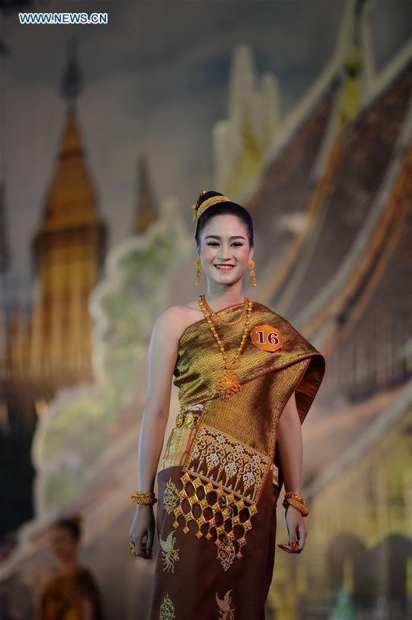 Lao fashion show 2018 8