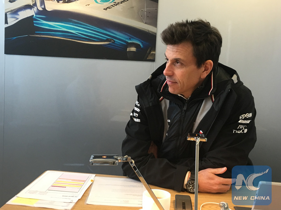 Interview: Mercedes F1 chief Toto Wolff says China has \