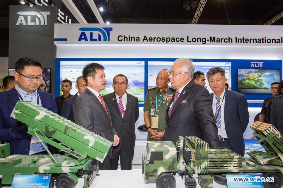 MALAYSIA-KUALA LUMPUR-DEFENSE SERVICES ASIA 2018-CHINA