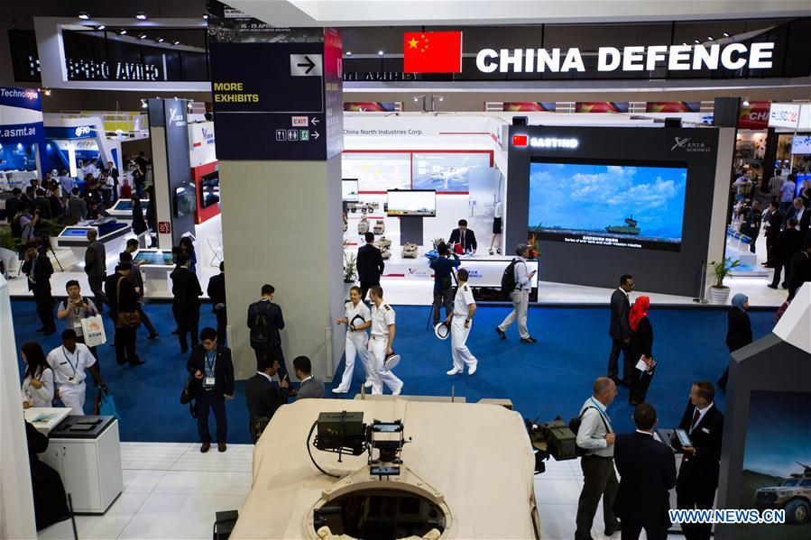 Spotlight: Chinese defense firms display products for