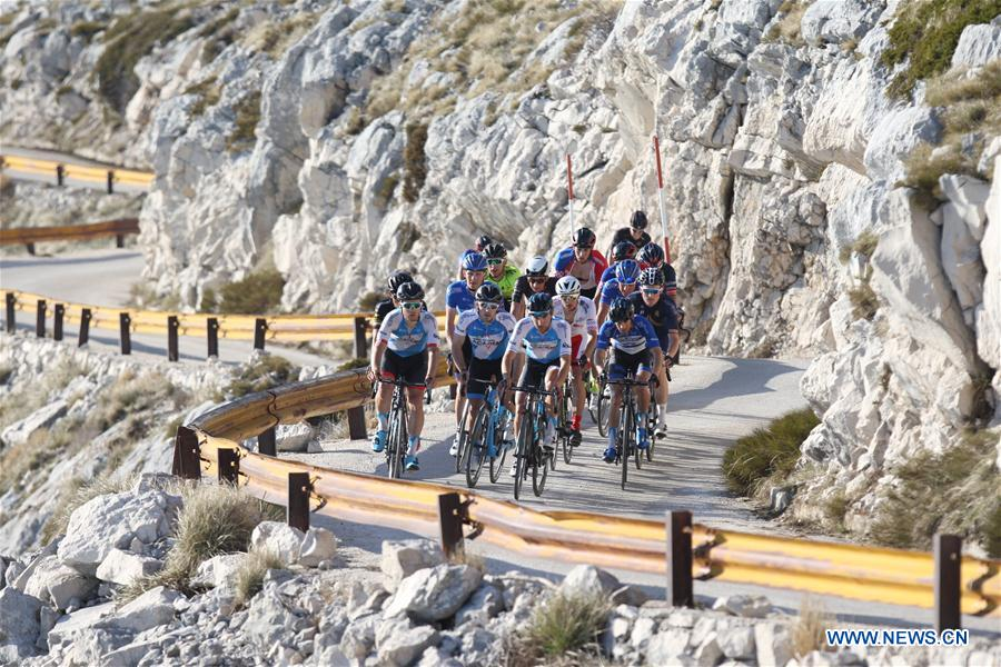 Cyclists compete in Tour of Croatia cycling race Cyclists compete in Tour of Croatia cycling race - Xinhua - English.news.cn - 웹